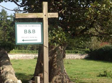 Preston Farm House Signpost
