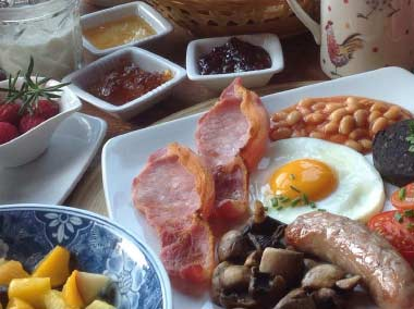 Preston Farm House Breakfast
